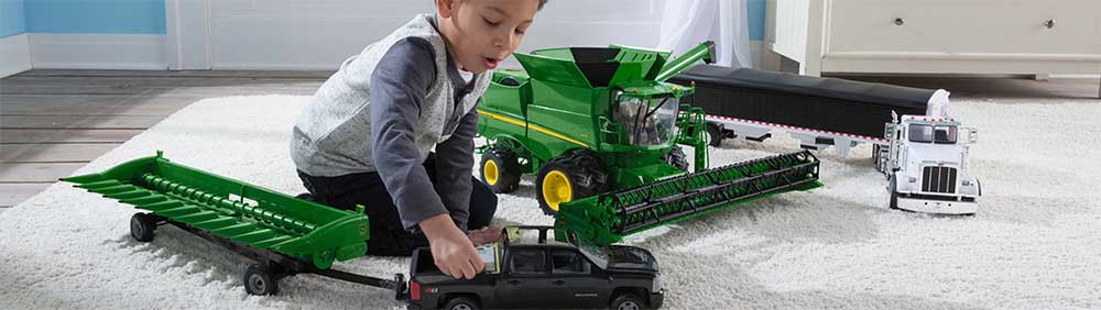 Breyer and ERTL toys at Essex Feed Warehouse